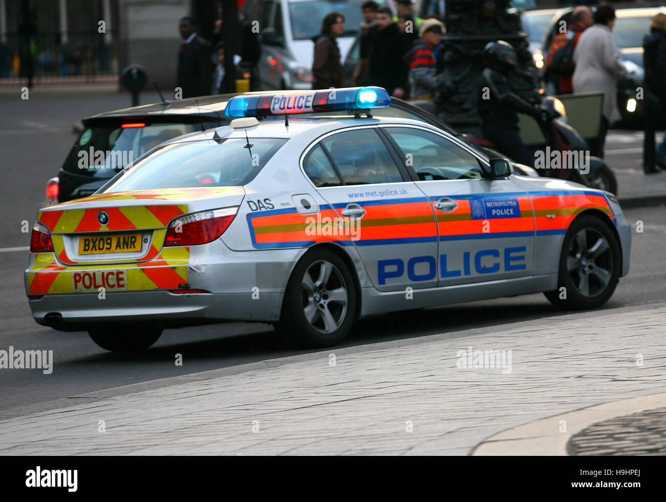 bmw police car stockfotos bmw police car bilder alamy. Black Bedroom Furniture Sets. Home Design Ideas