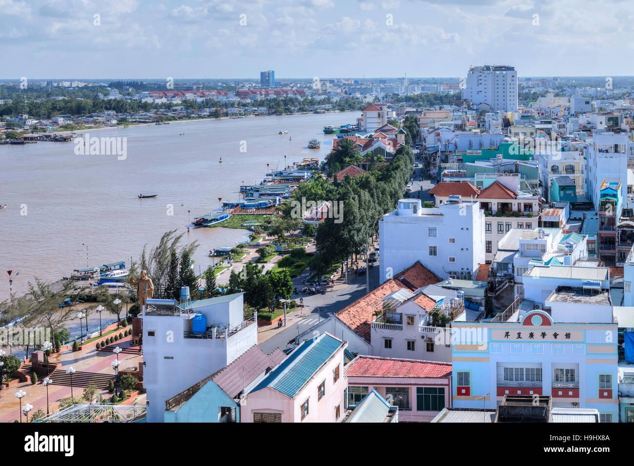Can Tho, Mekong Delta, Vietnam, Asien Stockbild