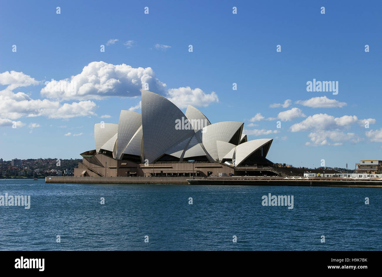 Das Sydney Opera House ist ein Multi-Veranstaltungsort Performing Arts Centre in Sydney, Australien. Stockfoto