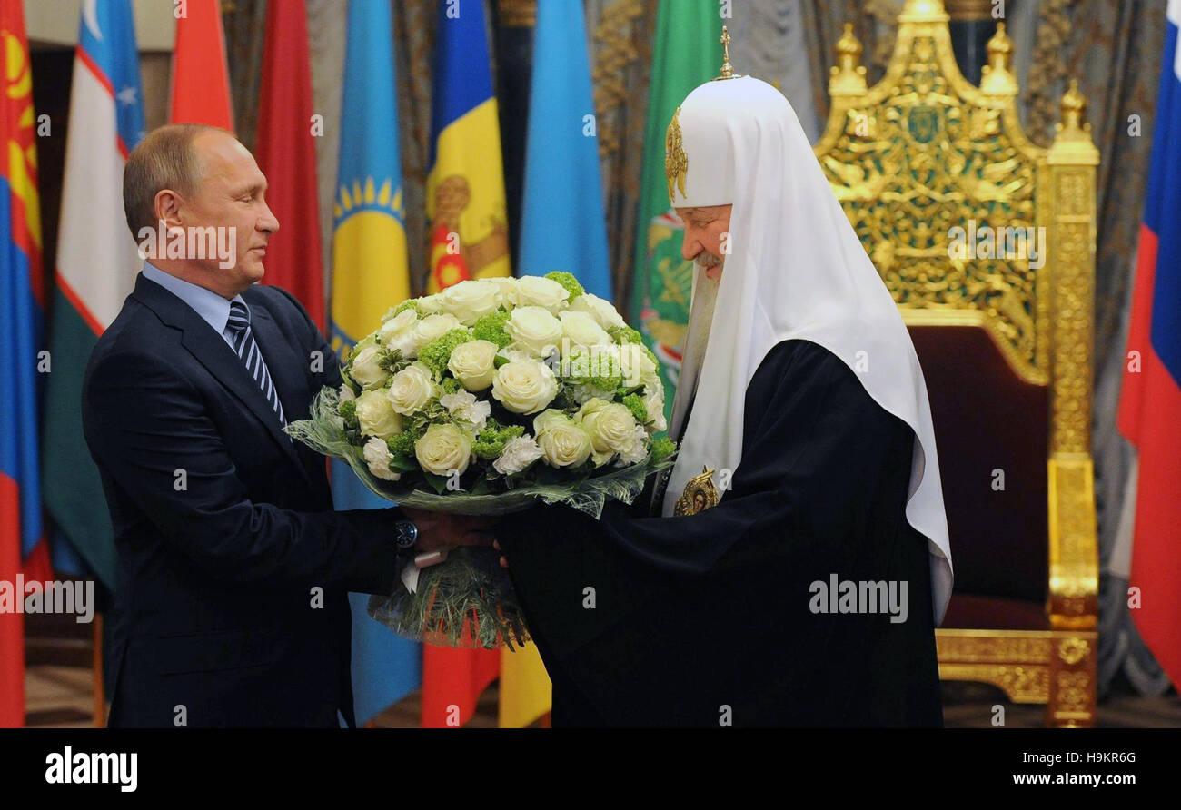 Der Russische Prasident Vladimir Putin Wunscht Alles Gute Zum
