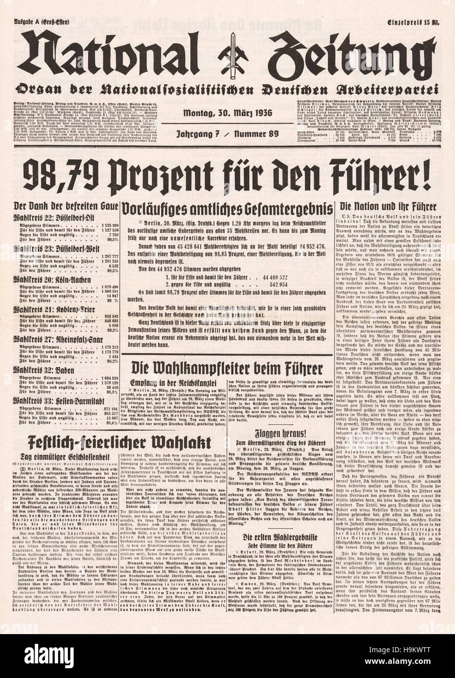 Nazis Nationalsozialismus Stockfotos & Nazis Nationalsozialismus ...
