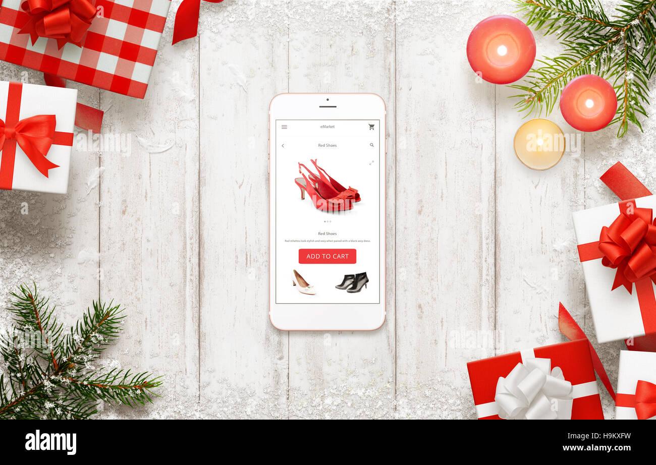 Snow Shoes Christmas Stockfotos & Snow Shoes Christmas Bilder - Alamy