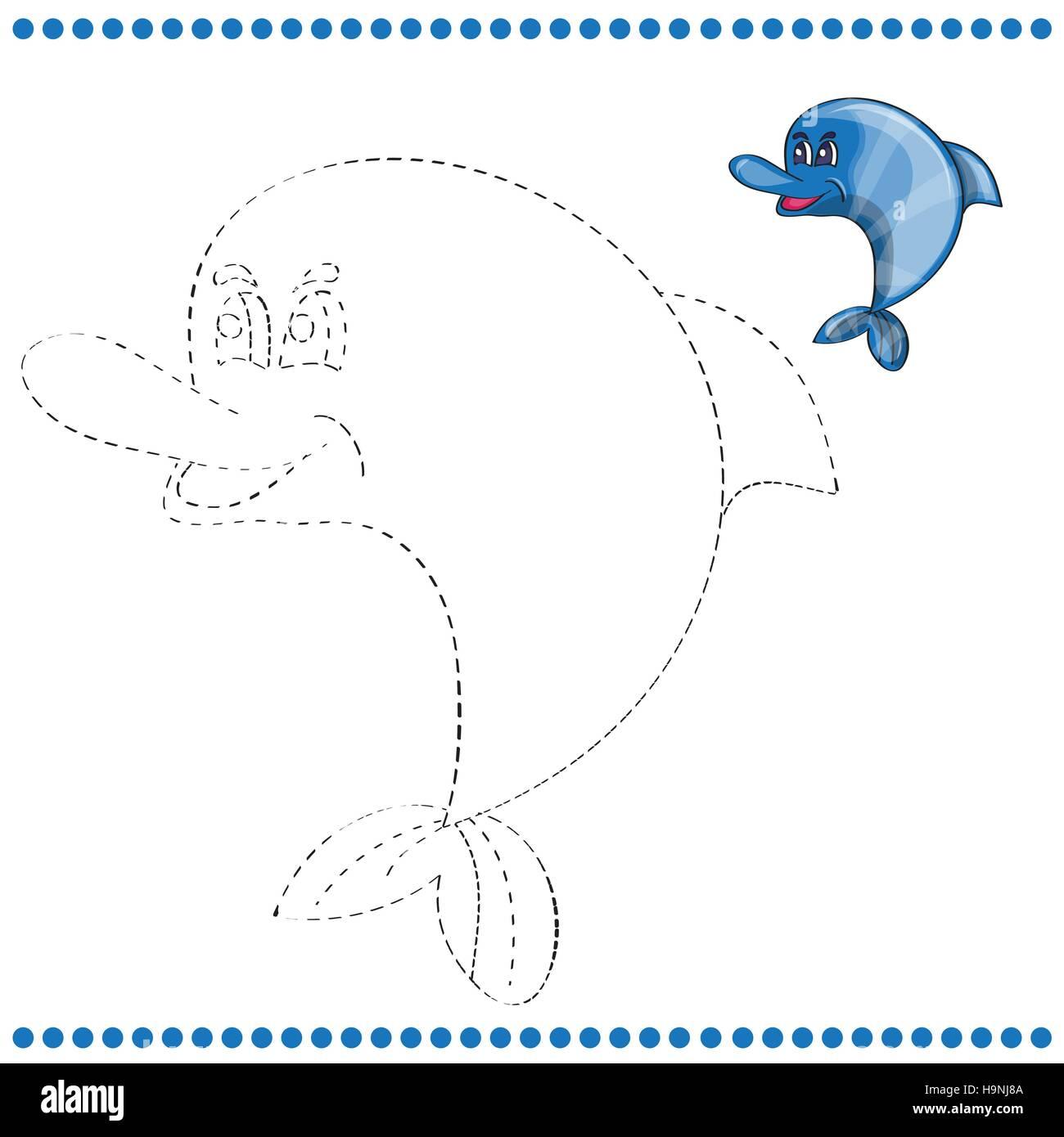 Dolphin Drawing Stockfotos & Dolphin Drawing Bilder - Seite 2 - Alamy