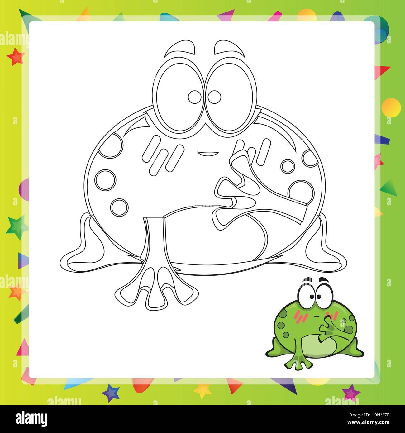 Großzügig Malbuch Frosch Ideen - Druckbare Malvorlagen - amaichi.info