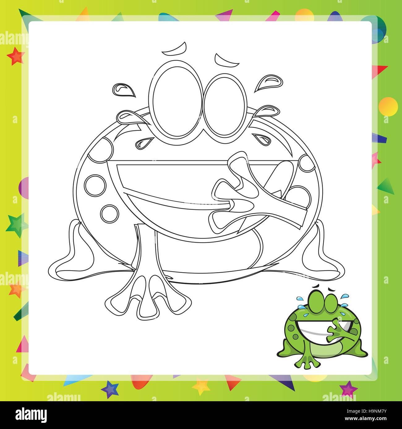 Berühmt Cartoon Frosch Malvorlagen Fotos - Malvorlagen Von Tieren ...
