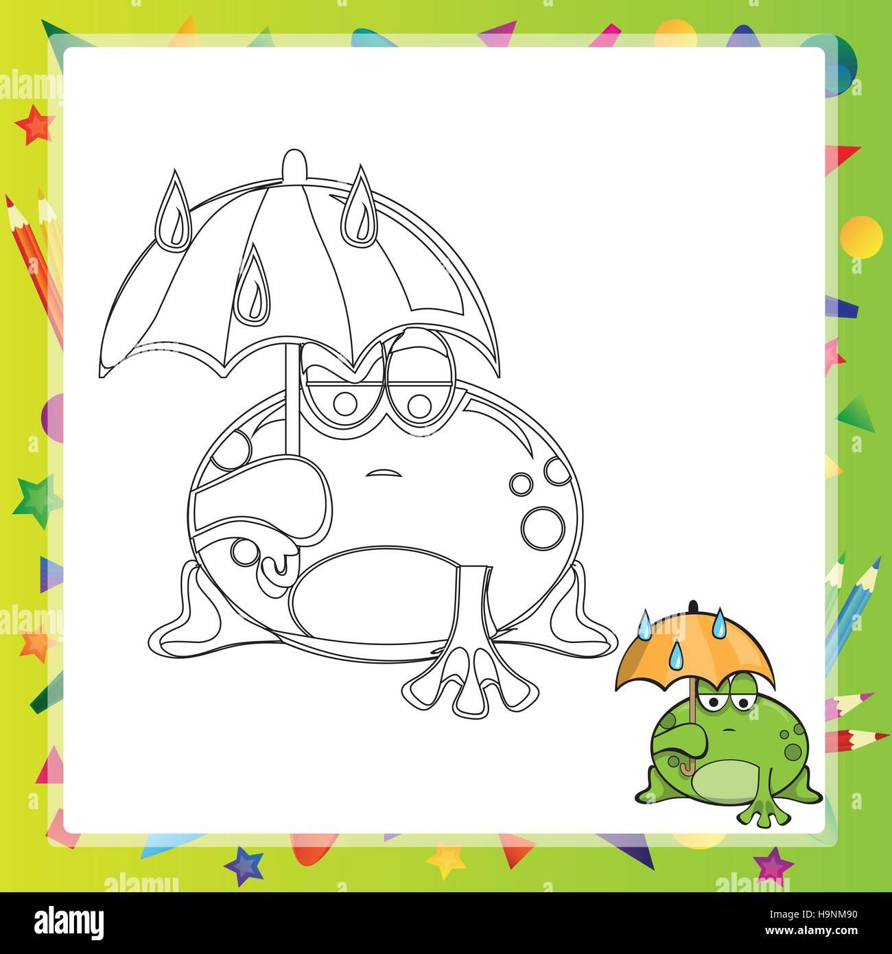 Ziemlich Malbuch Frosch Fotos - Framing Malvorlagen ...