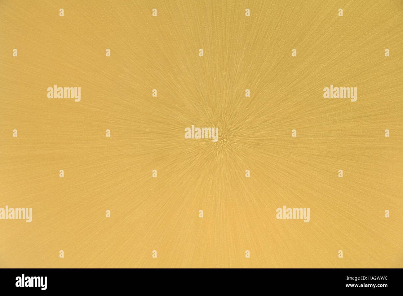 Zusammenfassung Hintergrund Gold Strahlung Stockbild