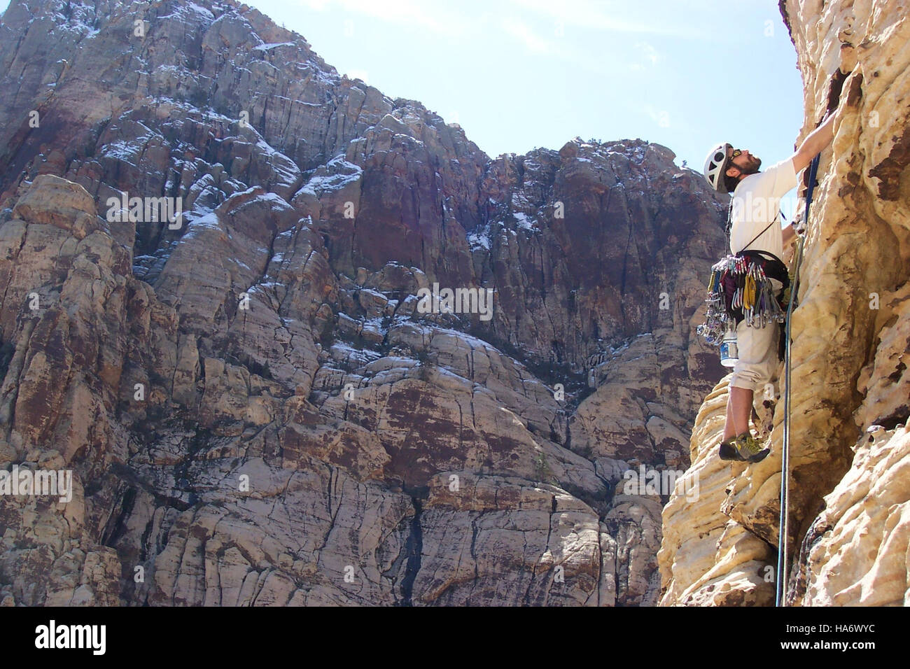 Blmnevada 25585058331 Red Rock Klettern Stockbild
