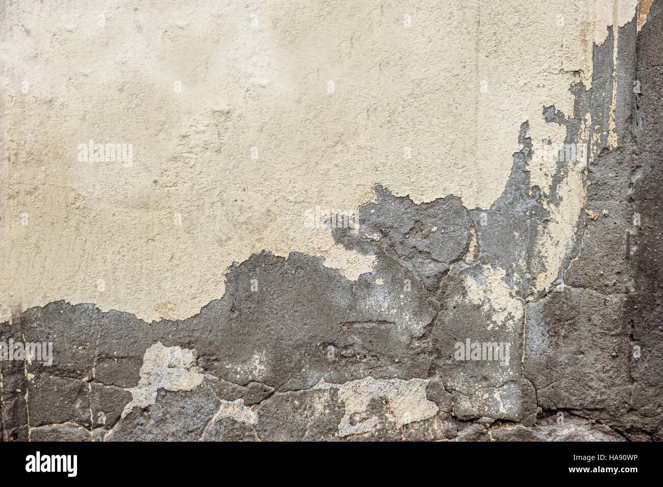 Halb gestrichenen Wand, Rahmen für Design Stockfoto, Bild: 126817426 ...