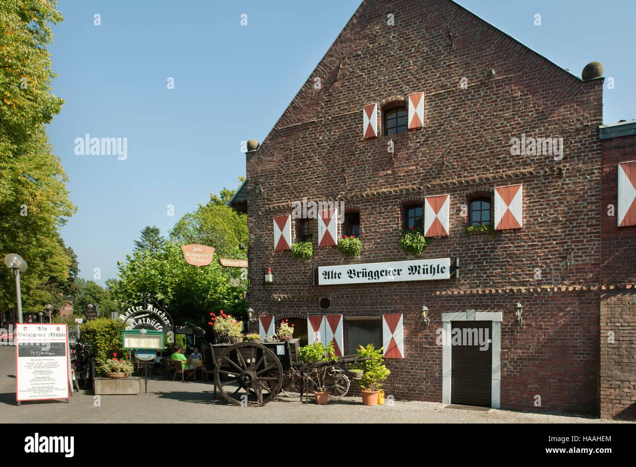 Deutschland, Nordrhein-Westfalen, Kreis Viersen, Brüggen, alte ...