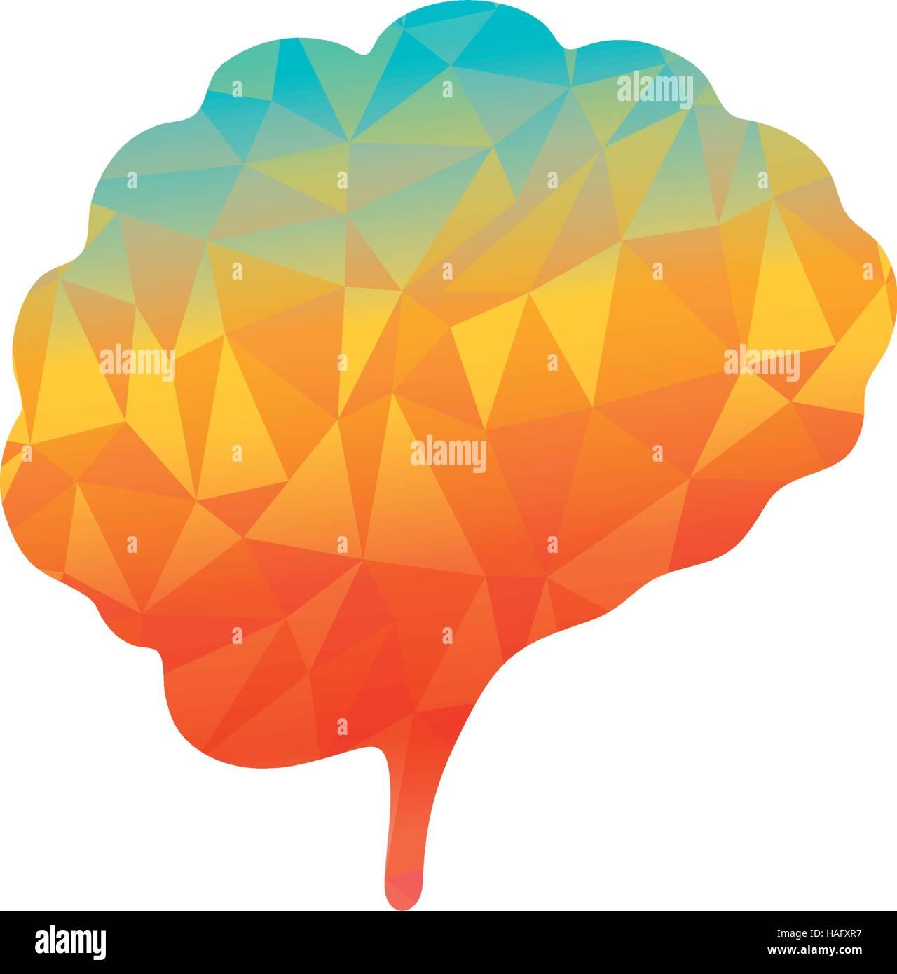Menschliche Gehirn Geist Stockbild