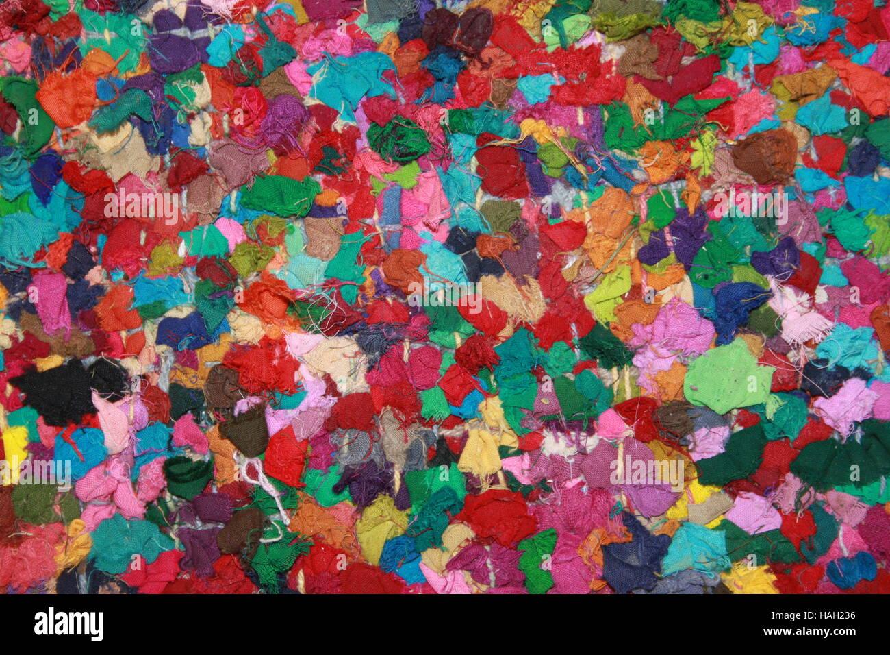 Traditionelle, bunt, Flickenteppich. Teppiche sind eine ...