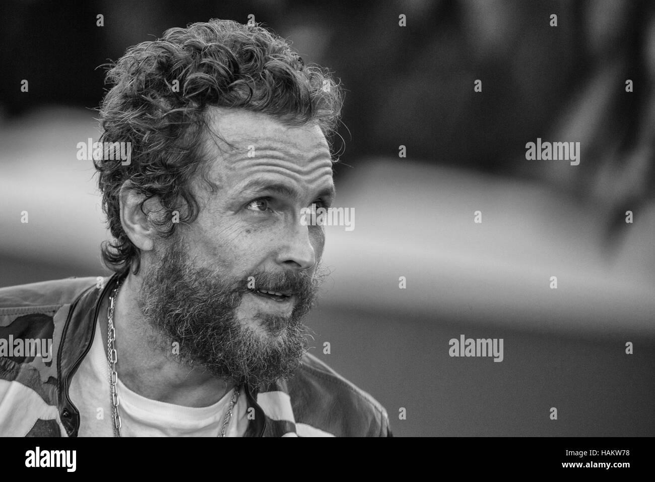 Rom Italien (It) - 16. Oktober 2016 - Rugby - Auditorium Parco della Musica in Rom - Lorenzo Cherubini, ist ein Stockbild