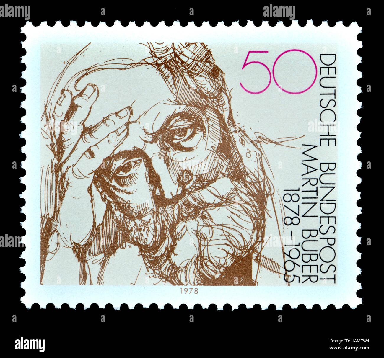 Deutsche Briefmarke 1978 Martin Buber 1878 1965 österreich