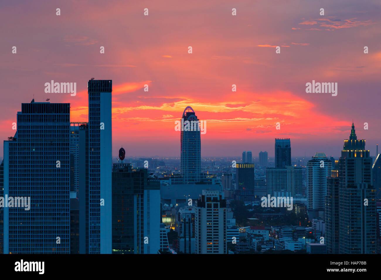 High Rise Building Bangkok Stockfotos  U0026 High Rise Building