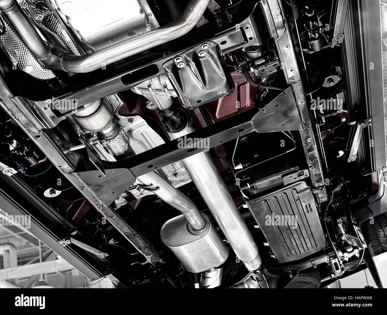 2017 Chevrolet Silverado 1500 Pickup Truck Unterseite Unterseite