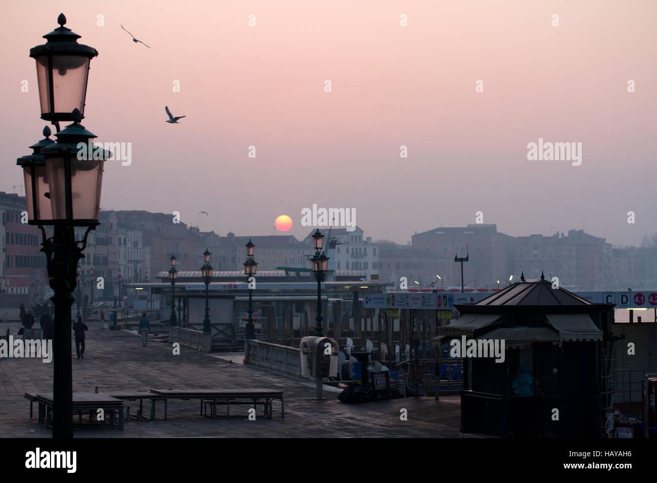 Castello-006. Venedig. Italien Stockbild