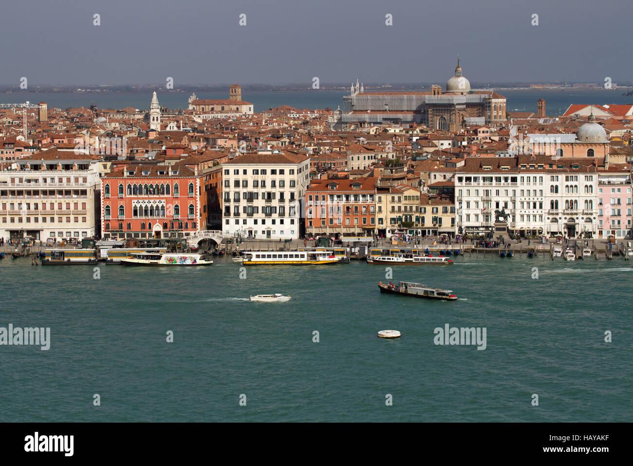 Canal Grande 003. Venedig. Italien Stockbild