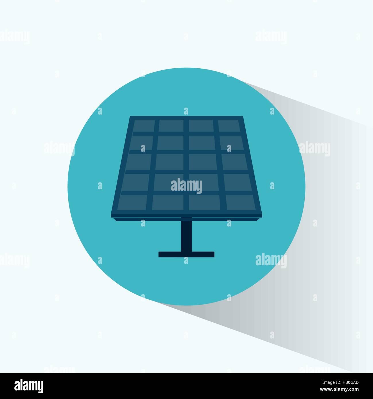 Solarenergie-Panel-Source-alternative Stockbild