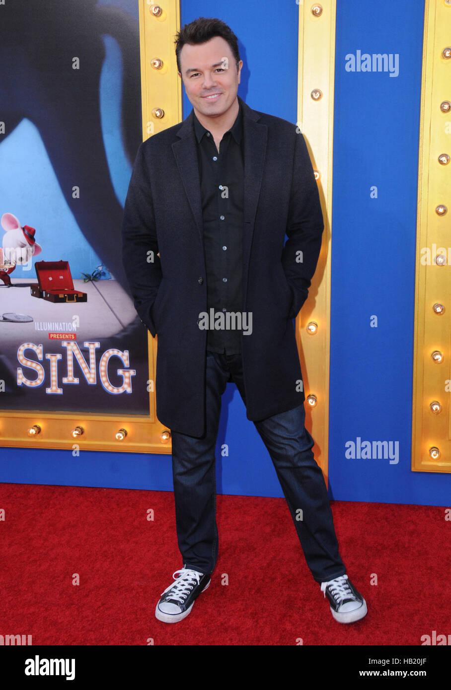 Los Angeles, CA, USA. 3. Dezember 2016. 3. Dezember 2016 - Beverly Hills, Kalifornien. Seth MacFarlane. Premiere Stockbild