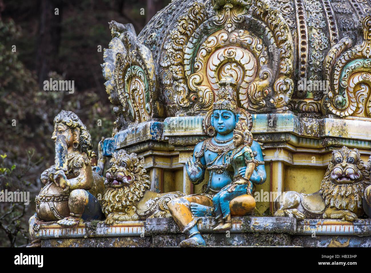 Seetha Amman Hindutempel, Sri Lanka Stockbild