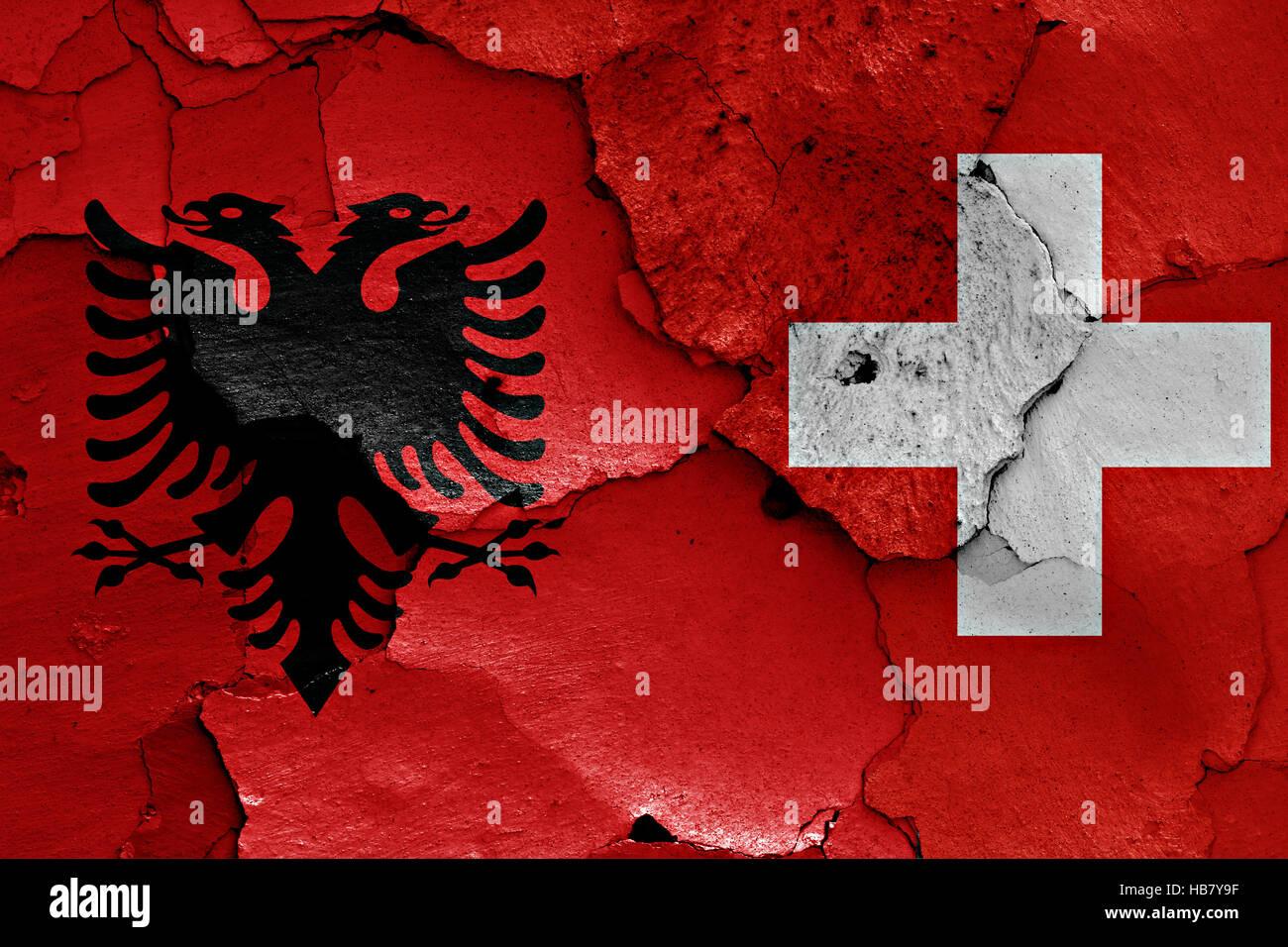 Albanien-Schweiz