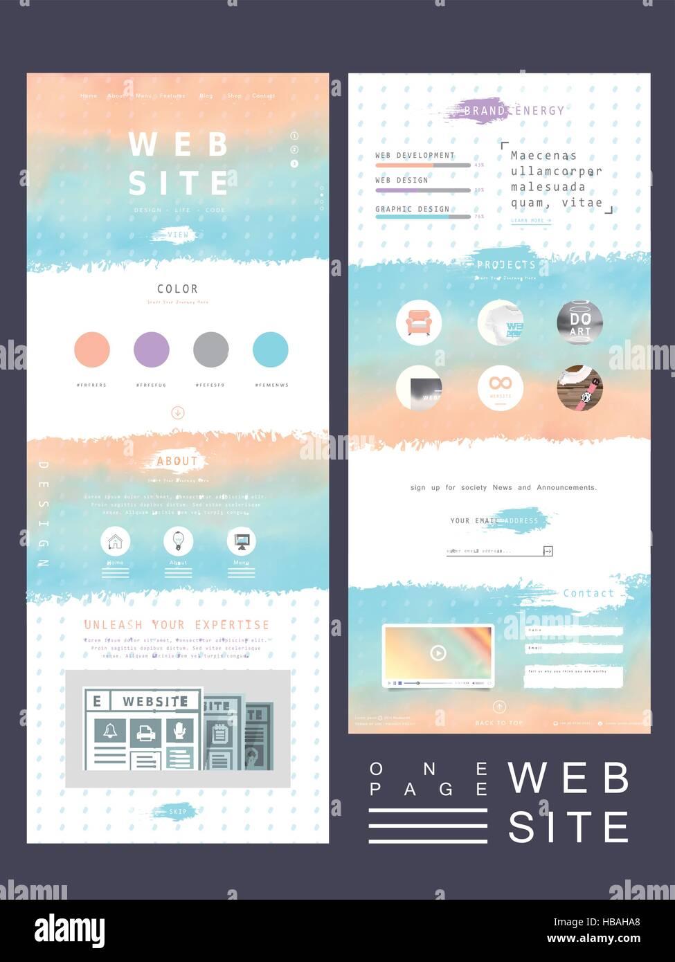 Ungewöhnlich Blaue Web Vorlagen Zeitgenössisch - Beispiel Business ...
