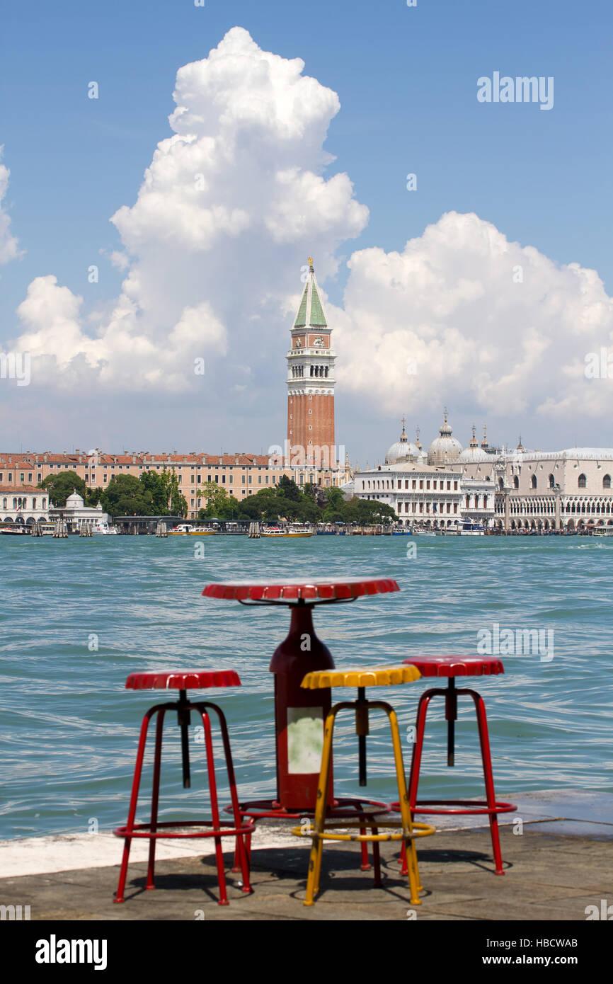 Canal Grande 009. Venedig. Italien Stockbild