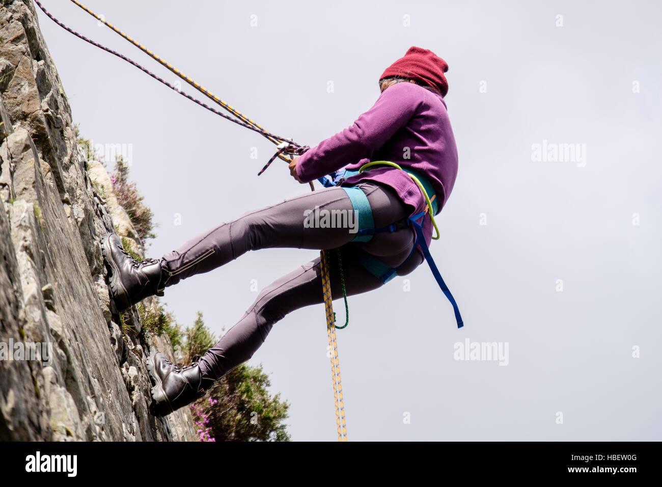 Klettergurt Abseilen : Klettern abseilen grindelwald wengen mürren lauterbrunnen