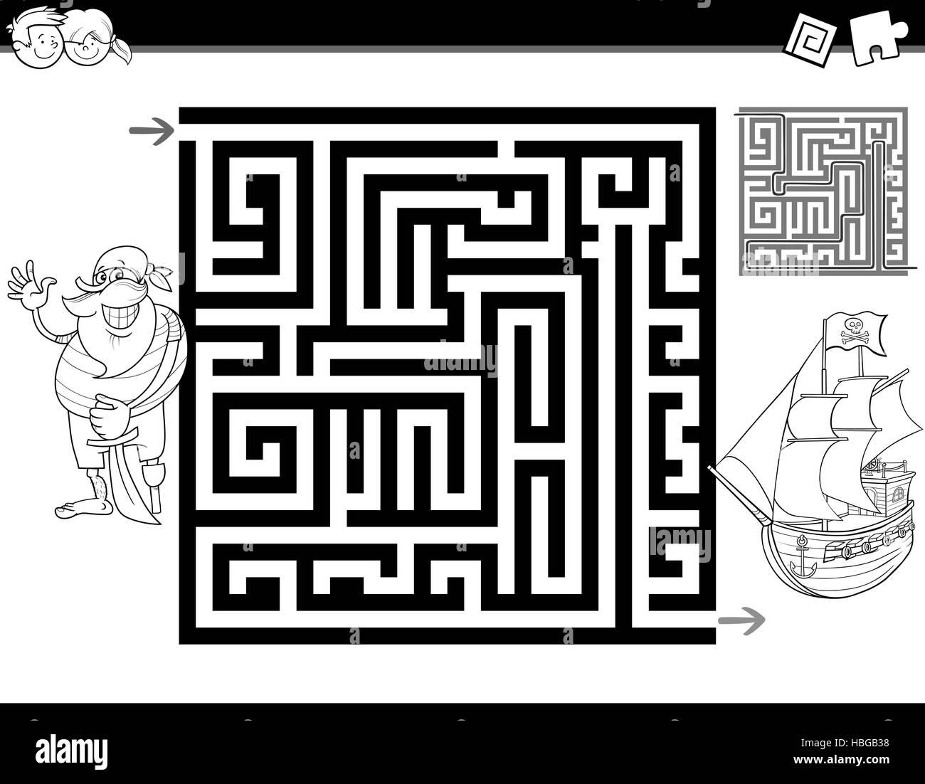 Charmant Labyrinth Läufer Malvorlagen Galerie - Beispiel Business ...