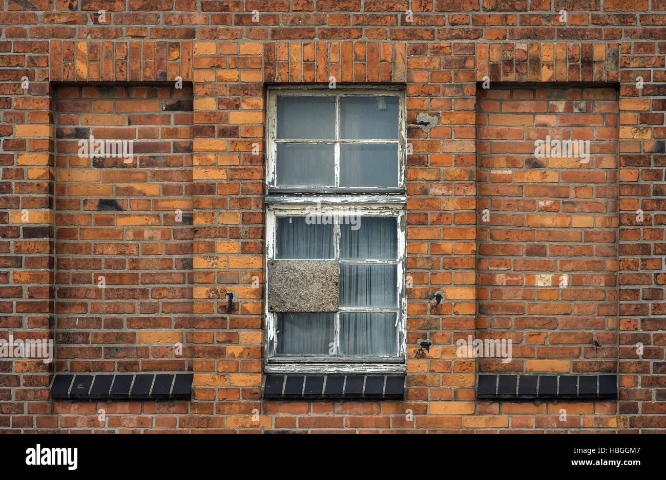 alte Hauswand Stockbild