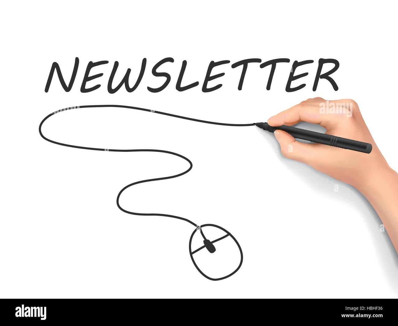 Newsletter Stockfotos & Newsletter Bilder - Alamy