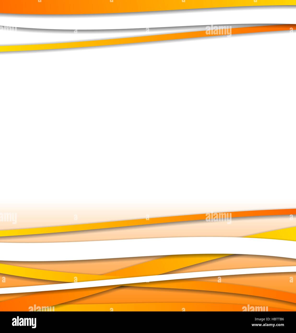 Orange Futuristic Background Curve Lines Stockfotos & Orange ...