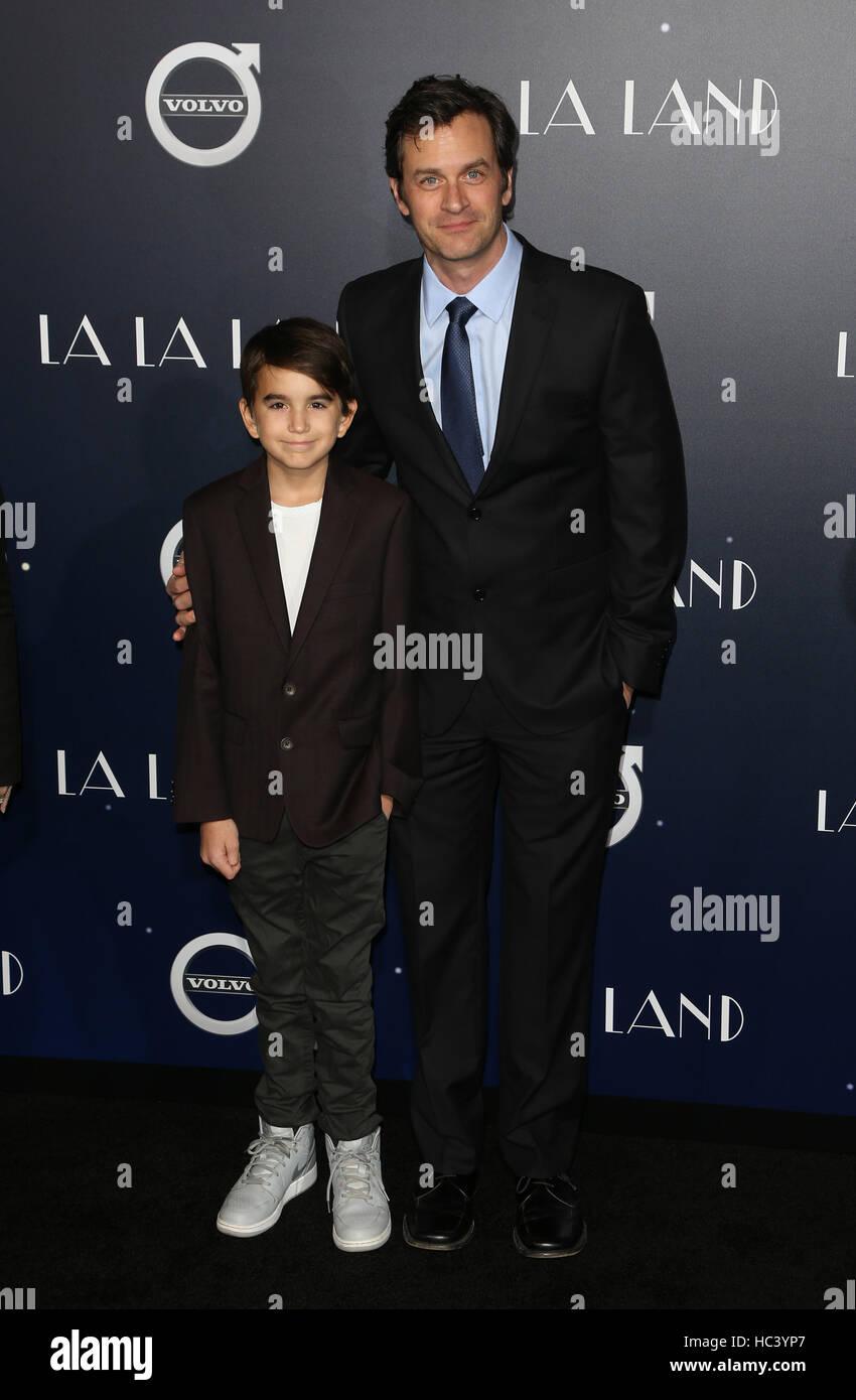 """Westwood, Kalifornien, USA. 6. Dezember 2016. Tom Everett Scott, bei Premiere von Lionsgate """"La La Land"""" Stockbild"""