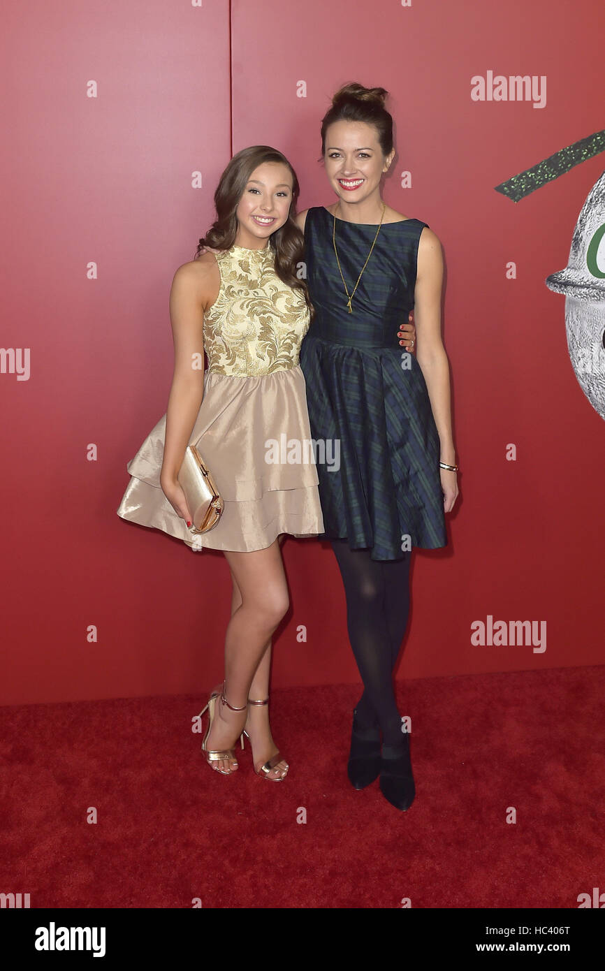 Los Angeles Usa 5 Dezember 2016 Sophia Lucia Und Amy Acker Bei