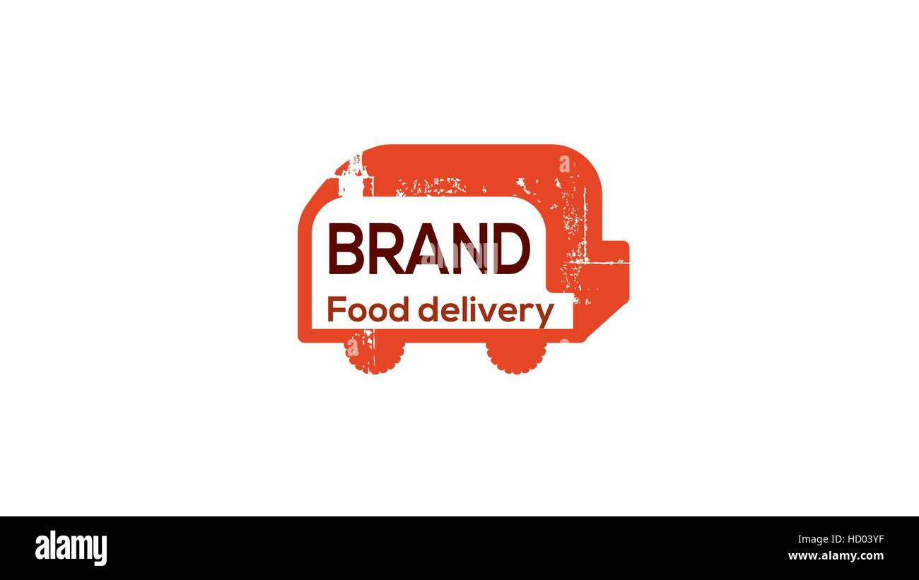 Food Delivery Truck Stockfotos & Food Delivery Truck Bilder - Alamy