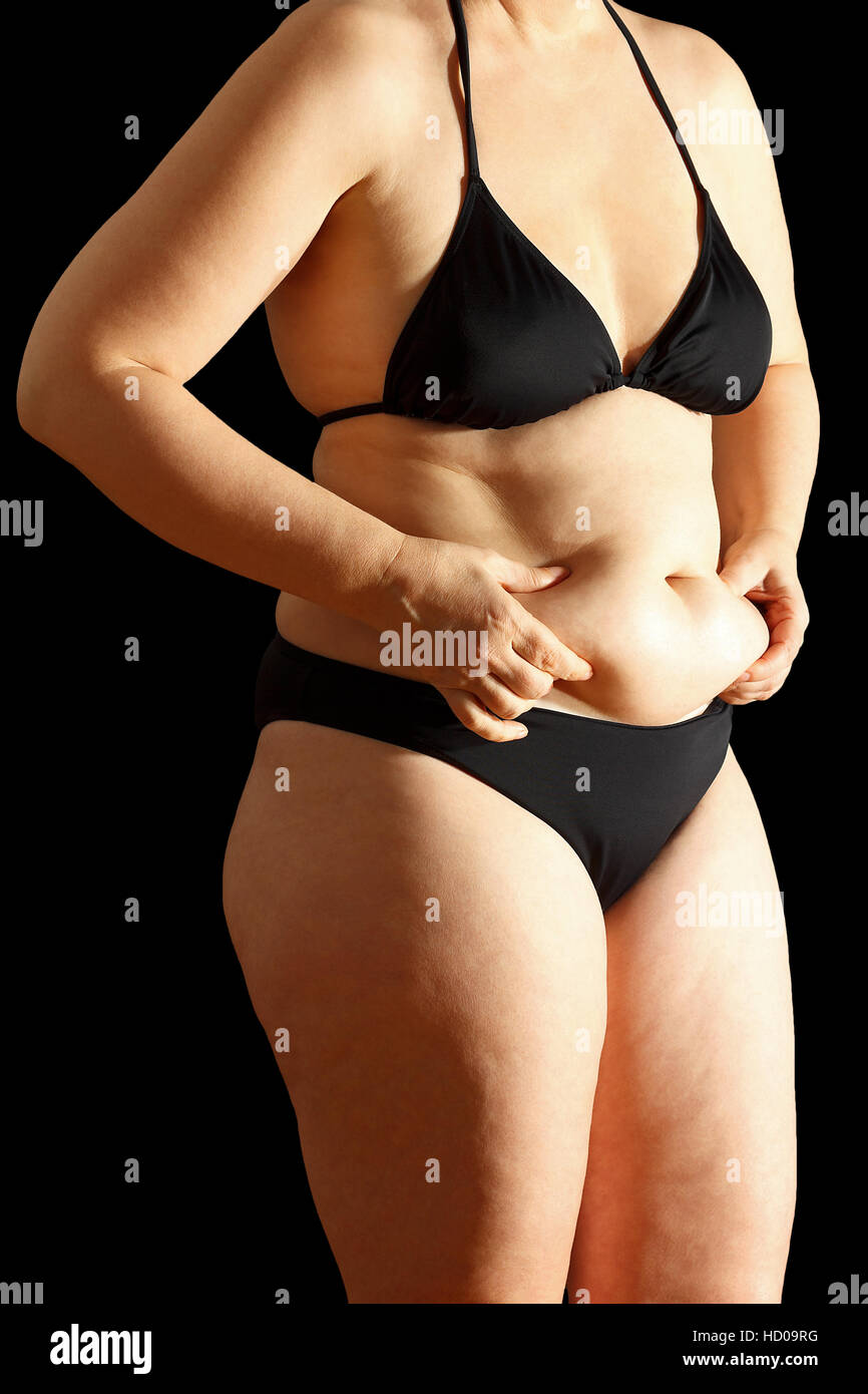 fat and woman and bikini stockfotos fat and woman and bikini bilder alamy. Black Bedroom Furniture Sets. Home Design Ideas