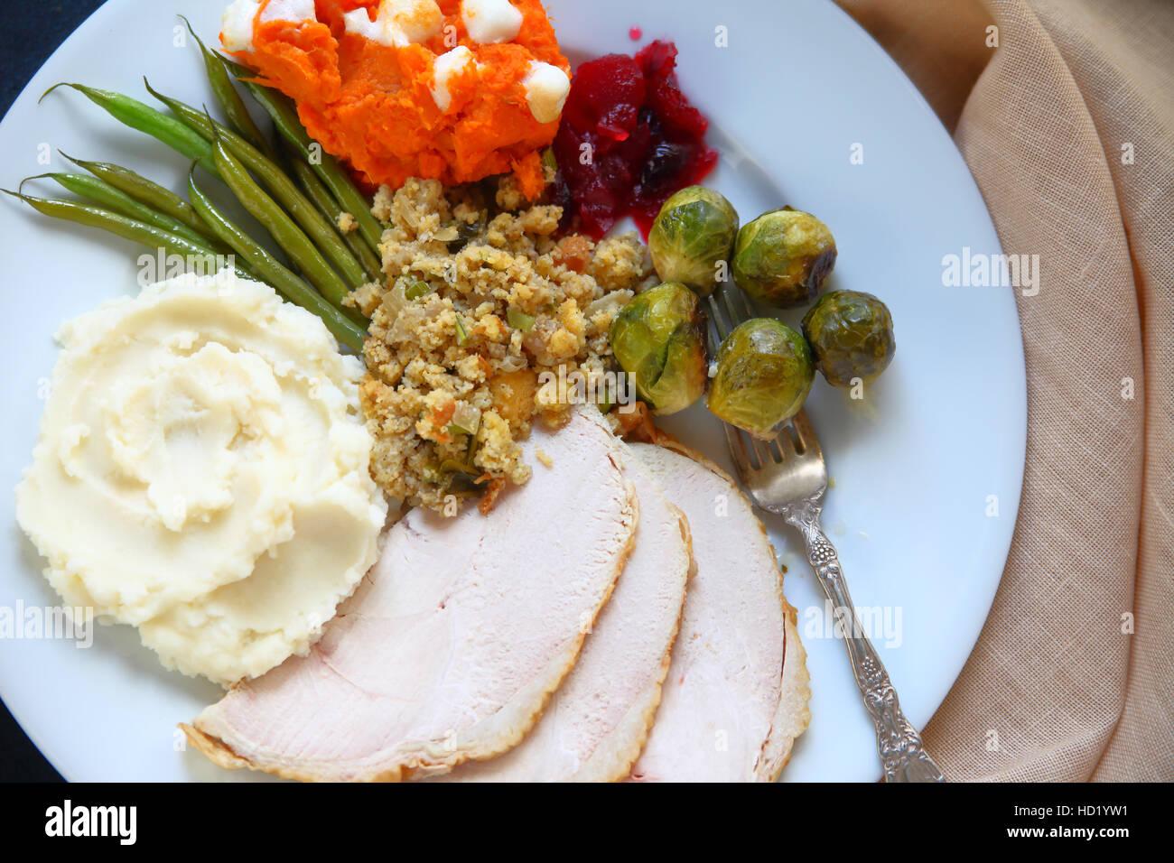 Thanksgiving Dinner Stockfotos & Thanksgiving Dinner Bilder - Alamy