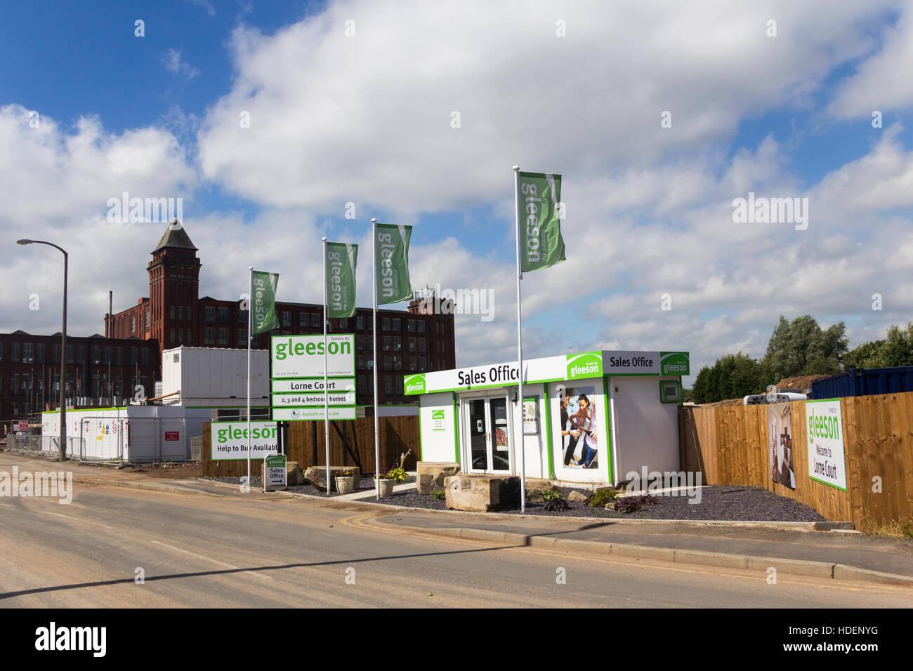 Lorne Gericht Wohnungsbau Im Farnworth, Einer Entwicklung Von 51 Neuen  Häusern Von Mj Gleeson Plc.