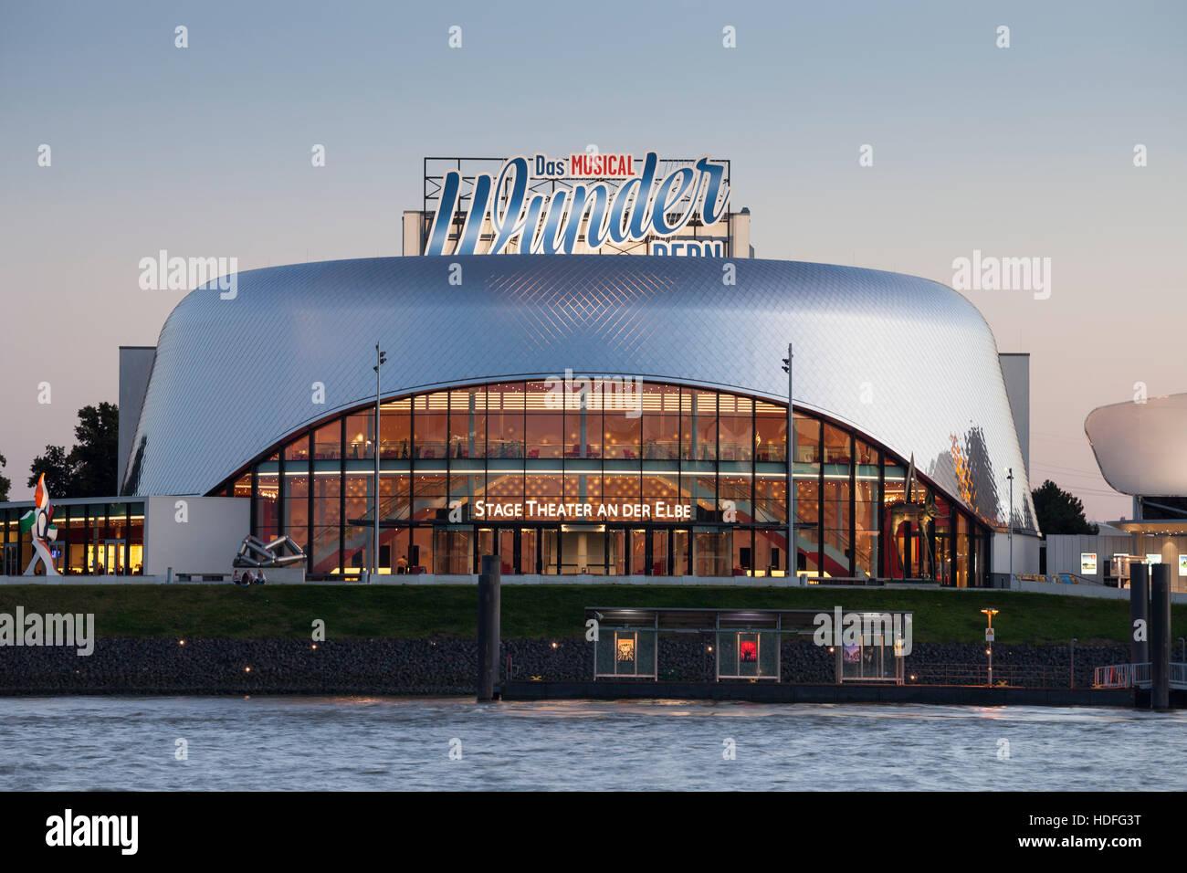 Stage Theater Vom Fluss Elbe Musical Theater Das Wunder Von Bern