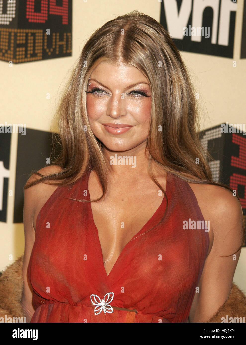 Fergie Von Den Black Eyed Peas Auf Vh 1 Big In 2004 Award
