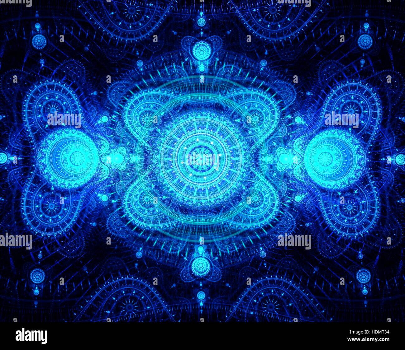 Zusammenfassung Hintergrund - Computer-generierte Bild. Stockbild