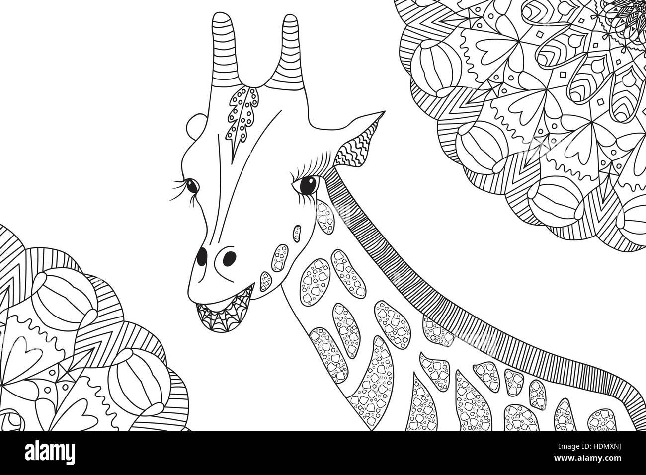 Ungewöhnlich Giraffe Malbuch Zeitgenössisch - Malvorlagen Von Tieren ...