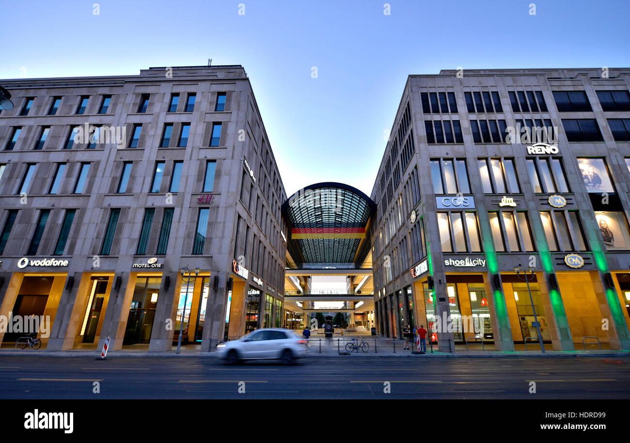 Einkaufszentrum In Berlin Leipziger Straße Mitte Berlin