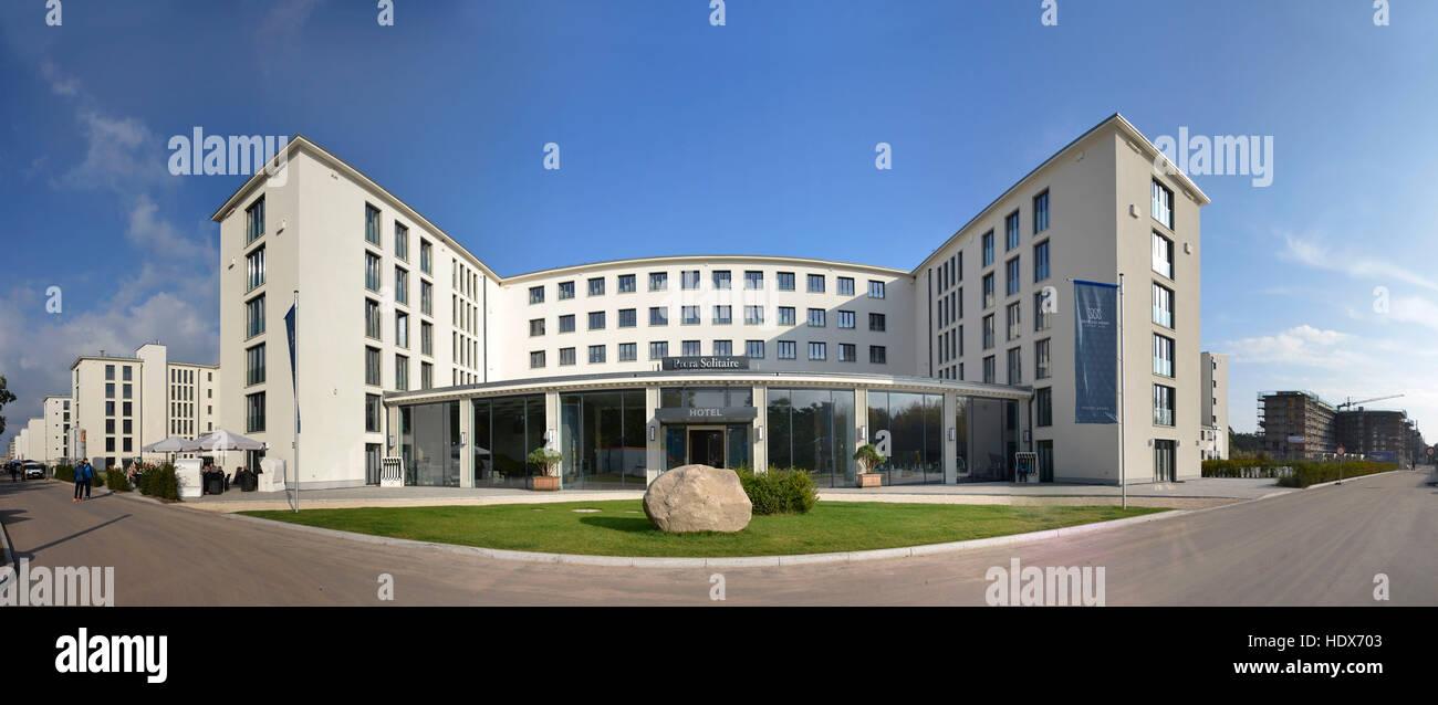 hotel prora solitaire prora binz r gen mecklenburg vorpommern deutschland stockfoto bild. Black Bedroom Furniture Sets. Home Design Ideas