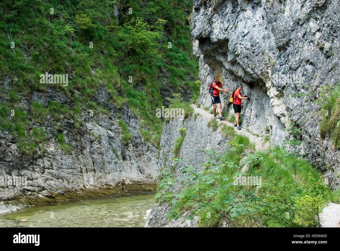 Klettersteig Austria : Klettersteig in der nationalpark kalkalpen upper austria europe