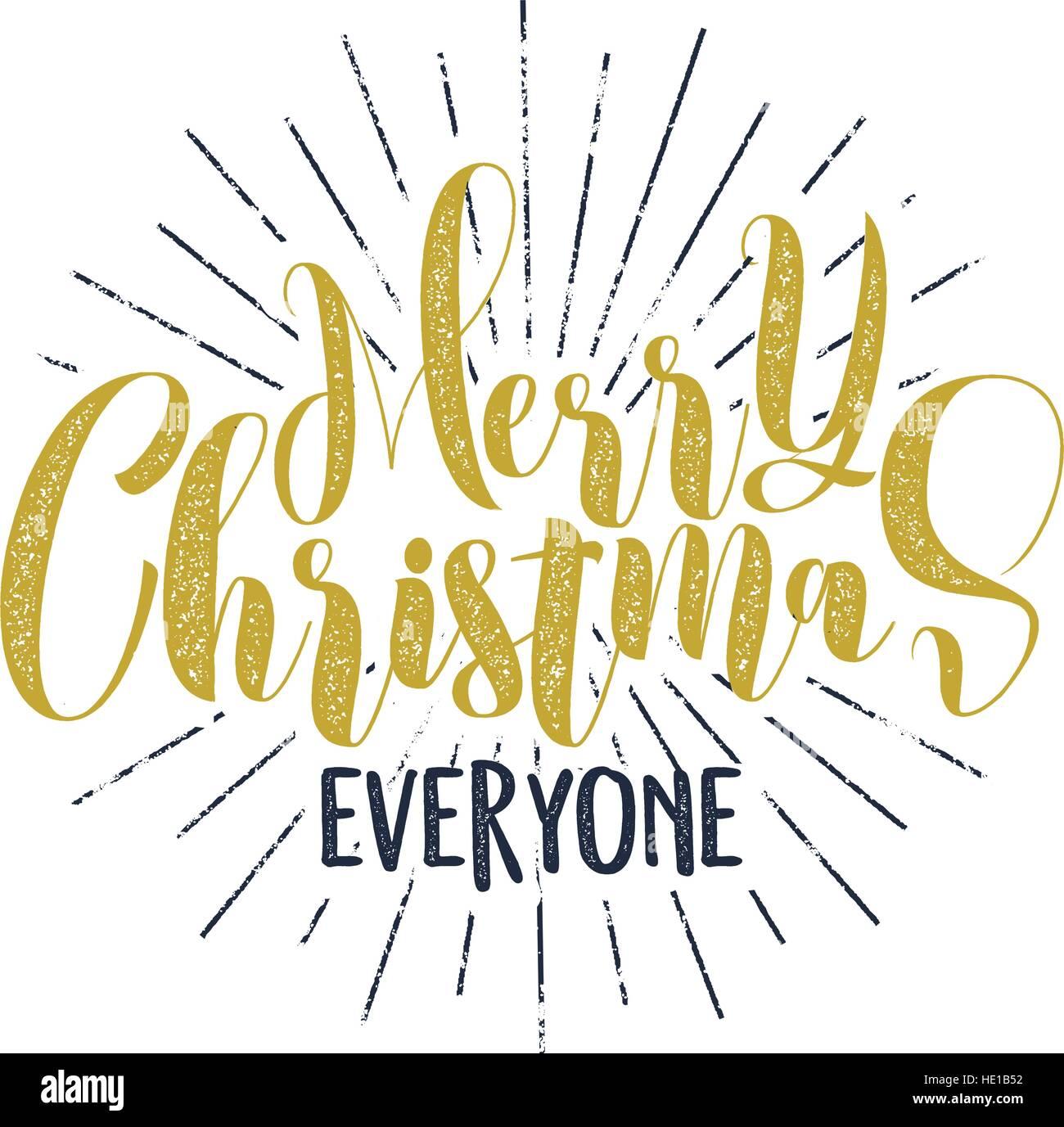 Frohe Weihnachten jeder Schriftzug, Urlaub, Wünsche, Sprüche und ...