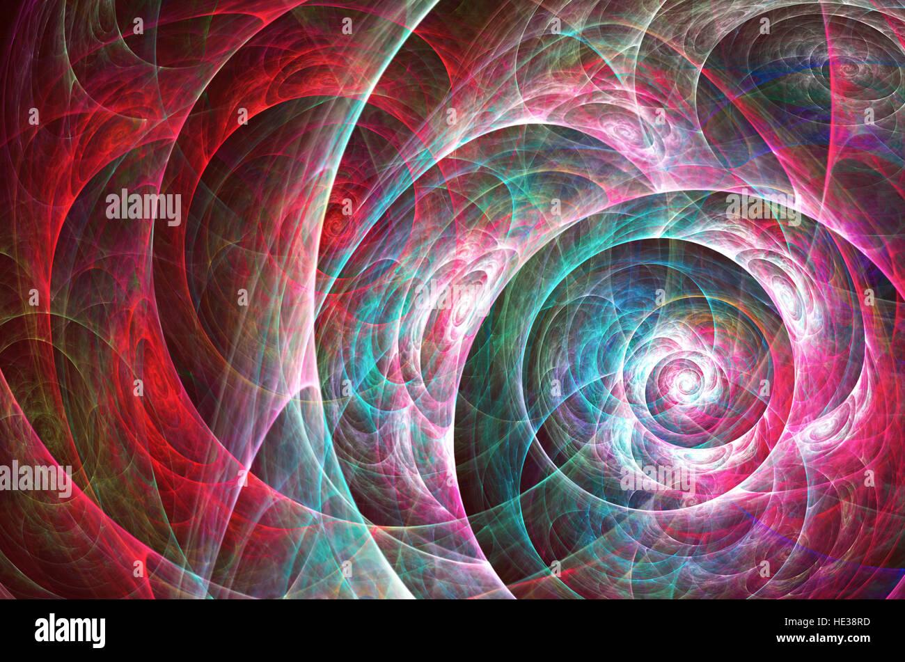 Abstrakte Fraktal Hintergrund, computergenerierten abstrakten Hintergrund Stockbild