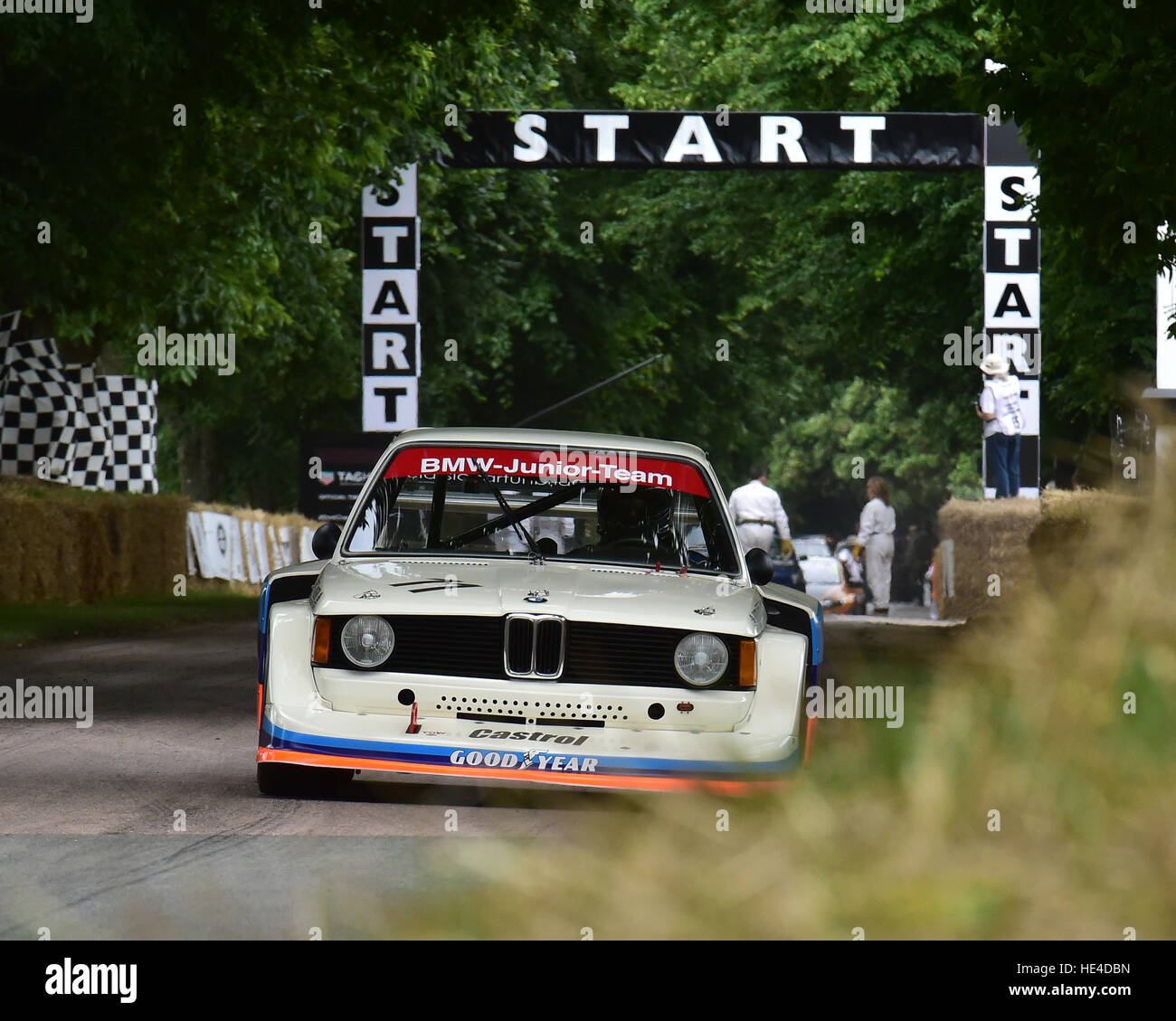 Kevin Cooper, BMW 320i, BMW Hundertjahrfeier, Goodwood Festival of Speed, 2016. Autos, Autos, Unterhaltung, Festival Stockbild