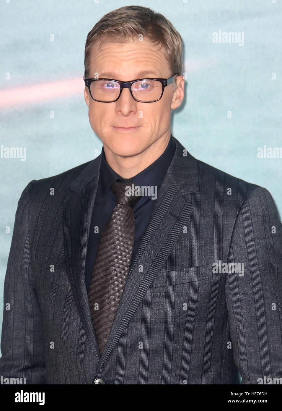 "13. Dezember 2016 - Alan Tudyk Teilnahme an ""ein Schelm: A Star Wars Story""-Launch Event in der Tate Modern Stockbild"